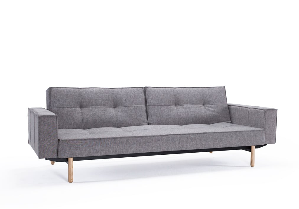 Splitback Sofa Bed W/Arm Rests