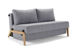 Cubed 140 Sofa Bed Wooden Legs (Copy)