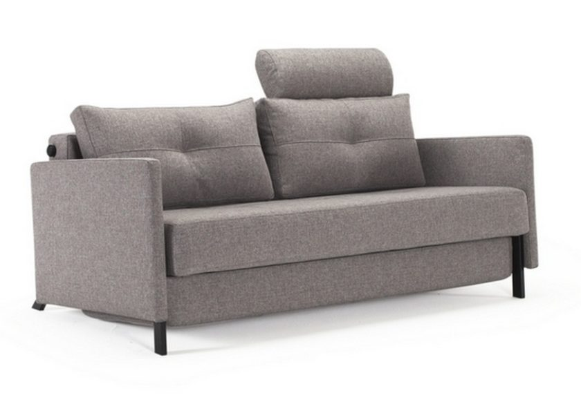 Cubed 160 Deluxe Sofa Bed w/Arms