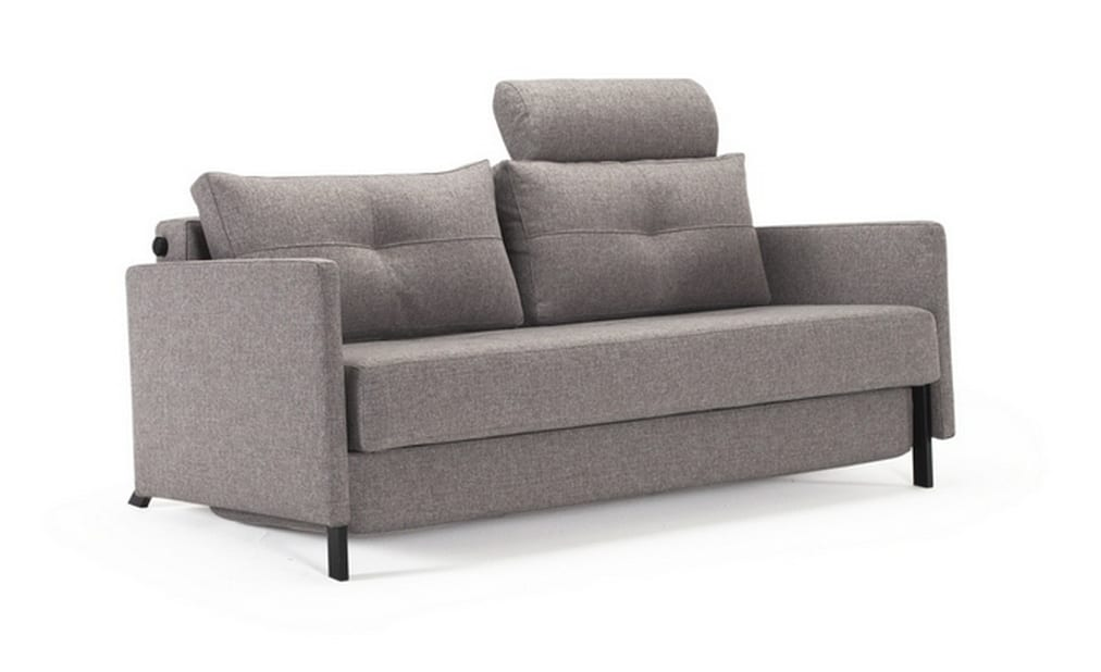 Cubed Deluxe 160cm with Arms Headrest