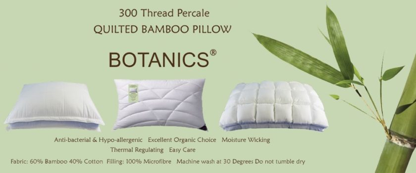 Bamboo Quilted Pillow