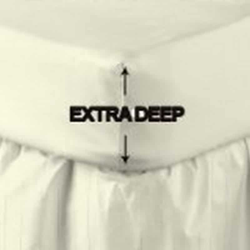 Egyptian Cotton 400 TC Fitted Sheet