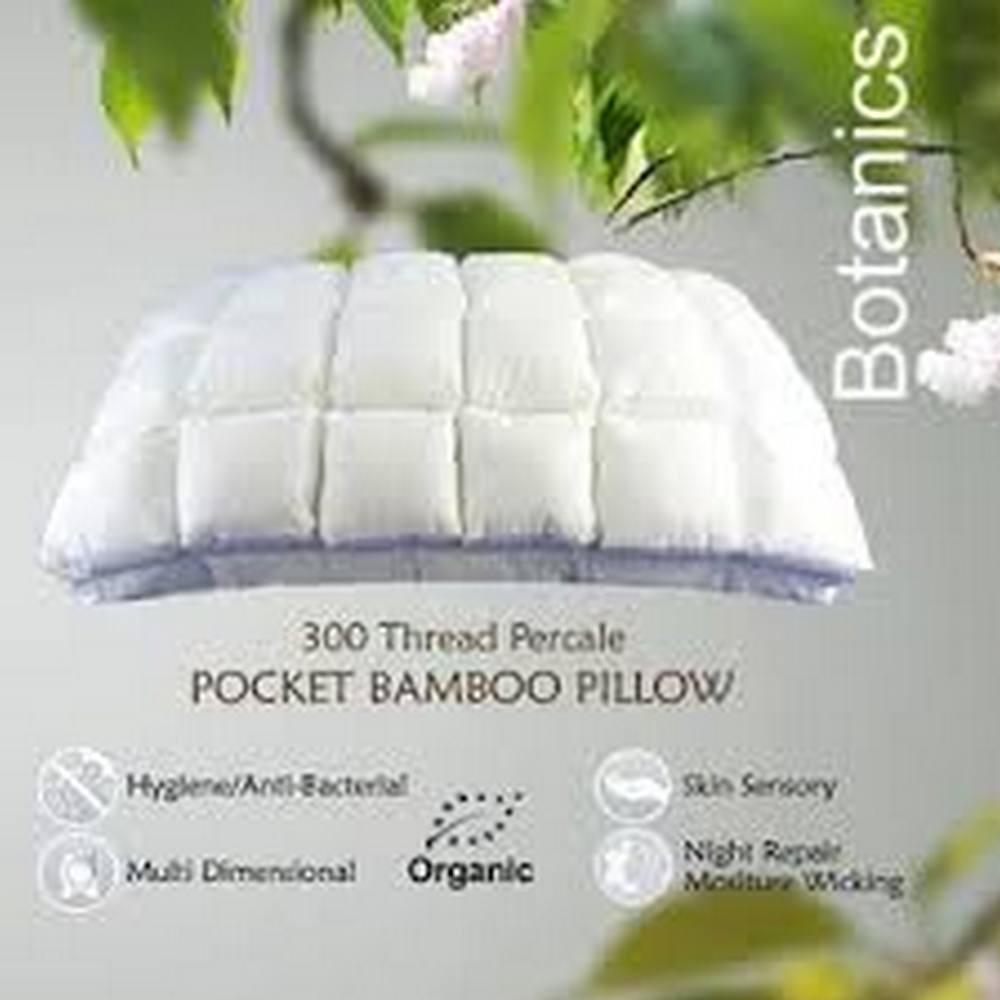 789ee5967ec6 Bamboo Pocket Pillow very helpful for those with allergy problems