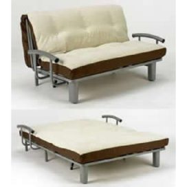 Double Futon (2 seat Metal Sofa Bed)