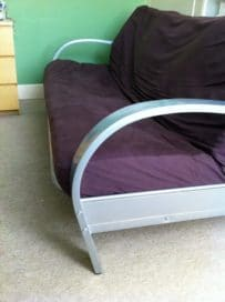 Double Futon (3 seat Metal Sofa Bed)