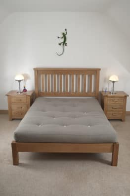 Double Wooden Beds