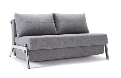Cubed 160 Deluxe Sofa Bed Chrome Leg