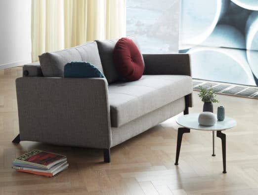 Cubed 160 Deluxe Sofa Bed w/Arm Rests