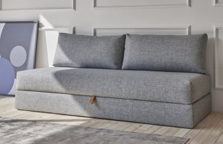 Cubed 160 Sofa Bed Alu Legs